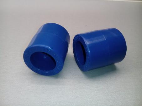 PPR  modrý nátrubek tlaková řada PN20 průměr 20mm